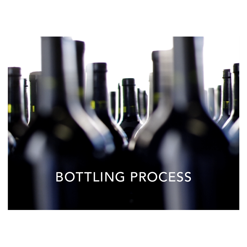 The bottling process